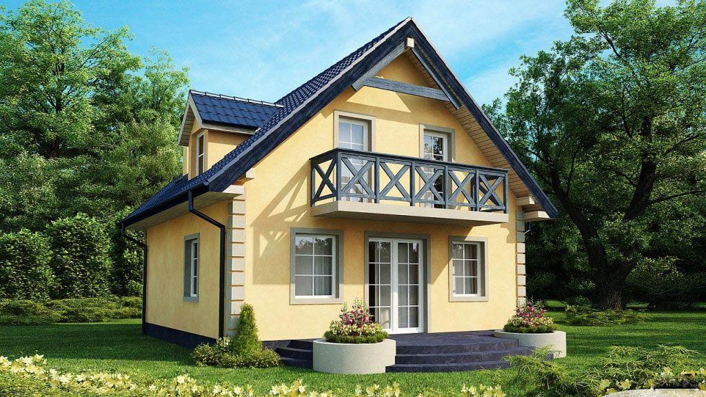 mini-dom-otlichiya-podobnykh-proektov-i-primery-gotovykh-postroek-21 Красивые дома и коттеджи: материалы для отделки и проектирование