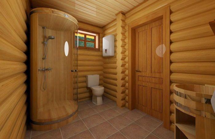 Отделка бани внутри парилка душевая комната отдыха