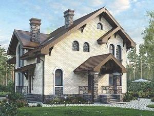 блочный дом дешево