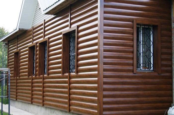 Пластиковые панели для отделки фасада дома