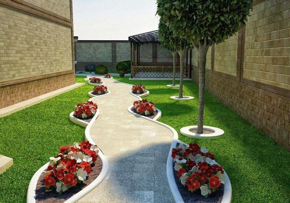 дизайн проект жилого двора