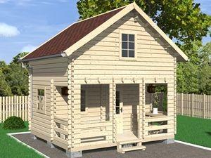 построить садовый домик под ключ недорого
