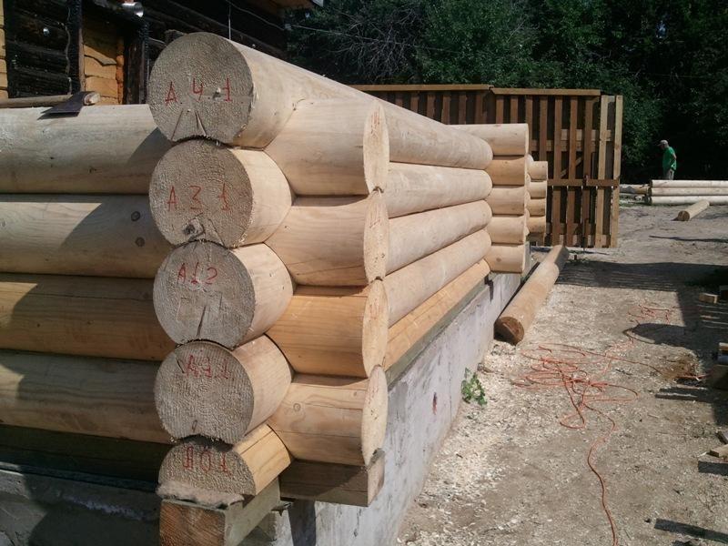 как правильно построить дом из бревна