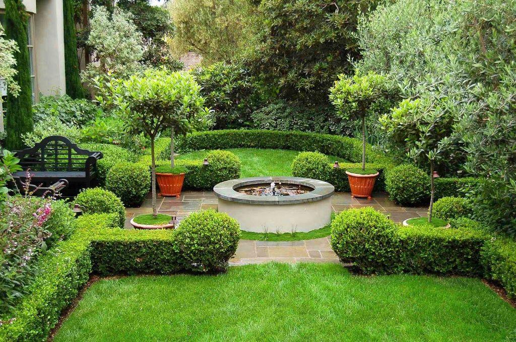 красивый ландшафтный дизайн в частных домах