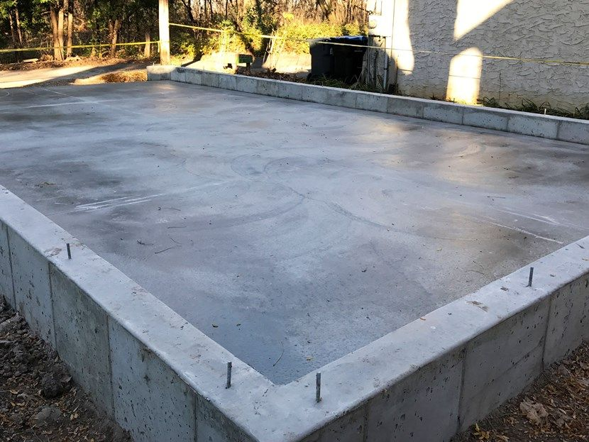 сделать фундамент готовый для дома и гаража