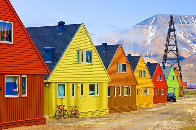 покрасить дом из клееного бруса