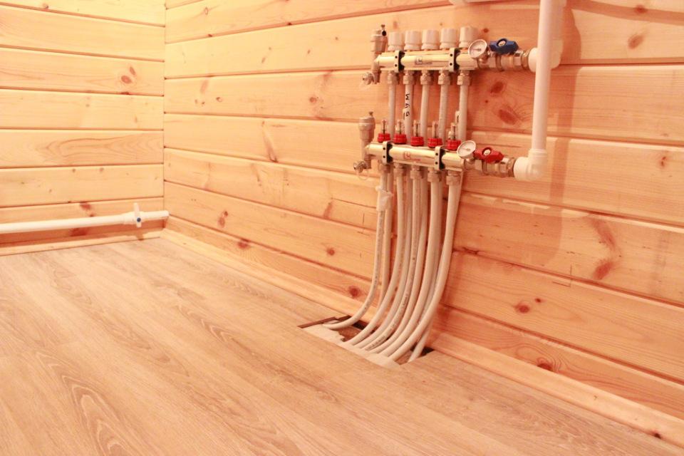 Теплые деревянные полы своими руками 118