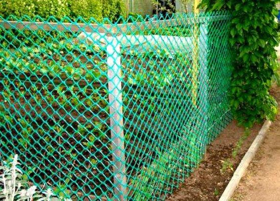 пластиковый забор для грядок