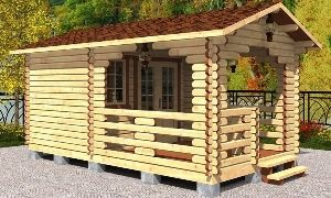 мини домики для дачи