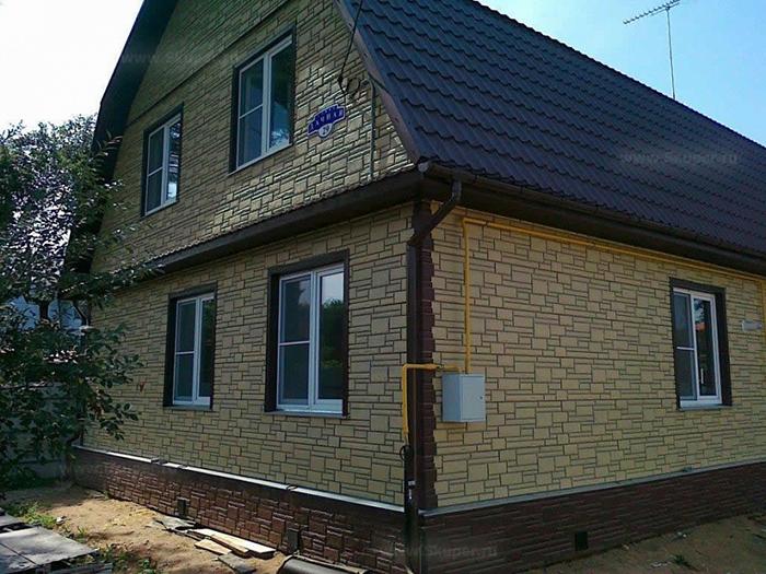 Панели для облицовки дома