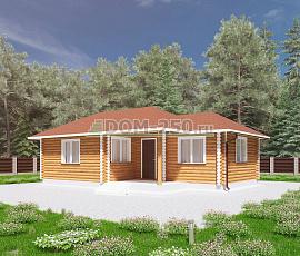 Проект Алтайского банного дома