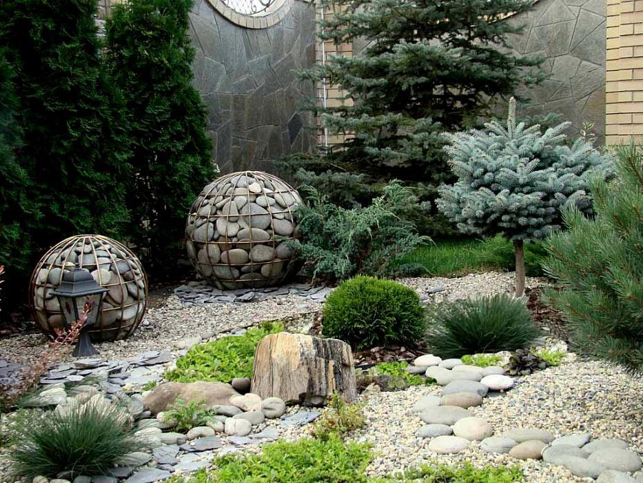 Украшаем территорию камнями: главные правила создания композиций