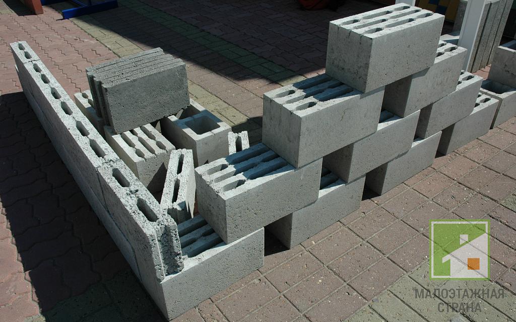 блоки строительные растворы