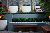 Как создать ландшафтный дизайн минимализм на участке у загородного дома - 11 фото6