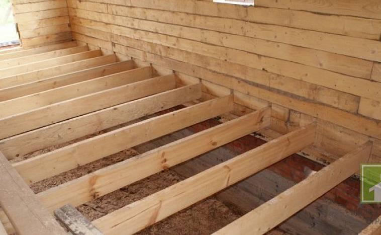 Полы в доме деревянные или керамзитобетон заливка полов бетоном цены за квадратный метр москва