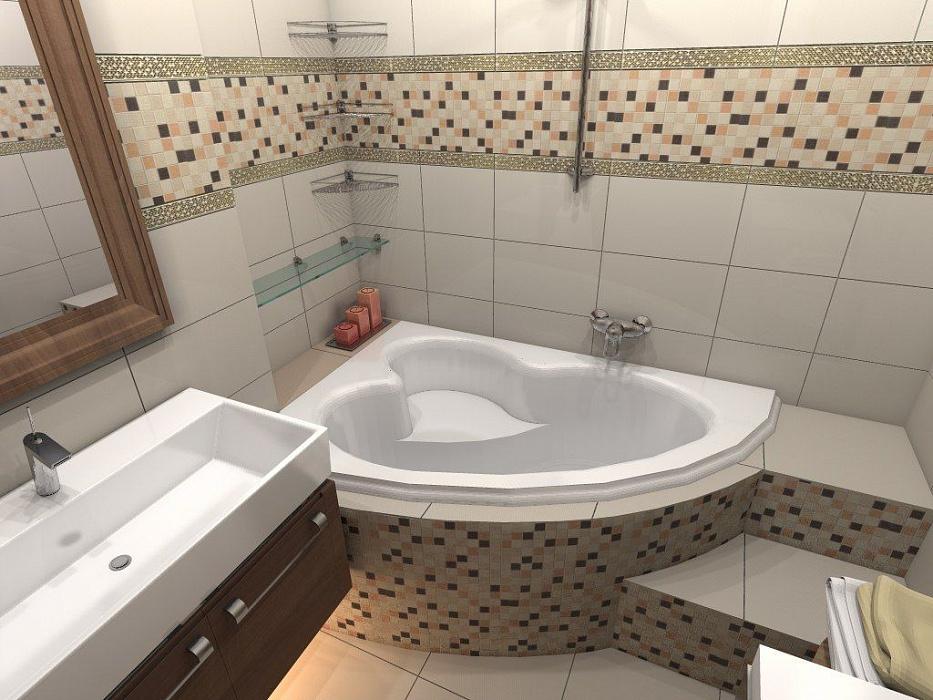 30 идей дизайна маленькой ванной комнаты без туалета
