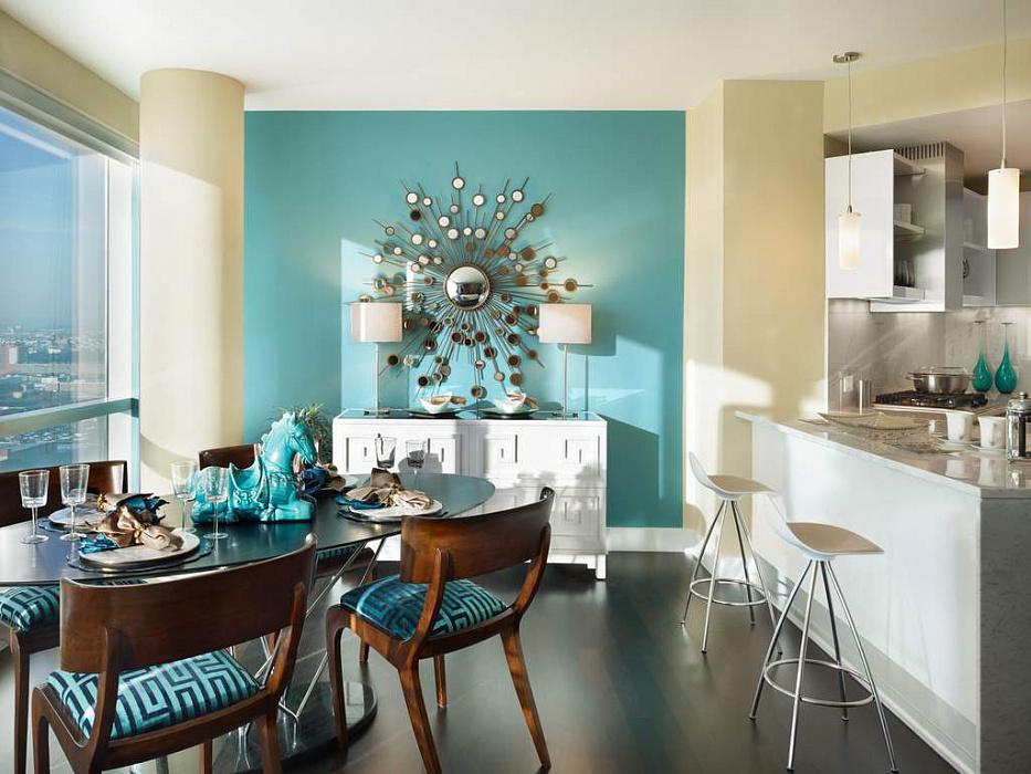 Правильный выбор цвет стен на кухне