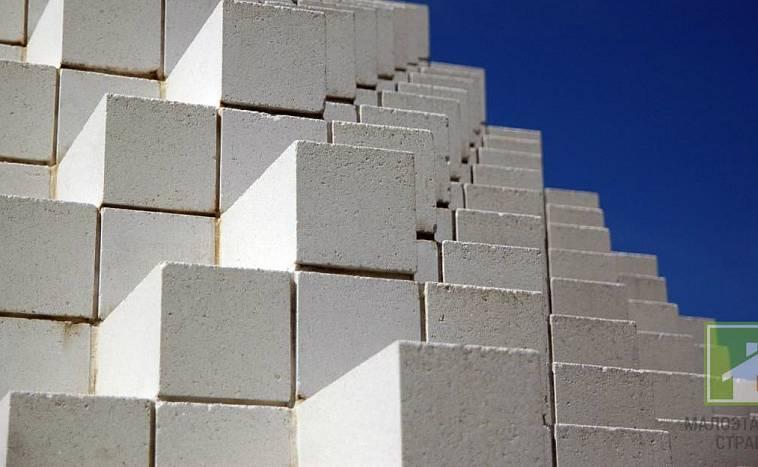 Вид пеноблоков из бетона за какое время схватывается цементный раствор