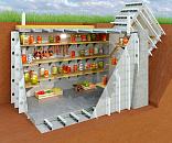 Винный погреб в частном доме, дизайн, материалы отделки для стен, пола и потолка, идеи обустройства - 29 фото8