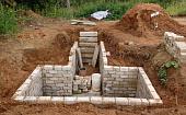 Винный погреб в частном доме, дизайн, материалы отделки для стен, пола и потолка, идеи обустройства - 29 фото13