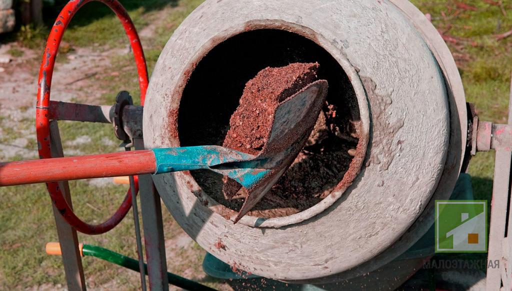 как правильно замешивать цементный раствор в бетономешалке