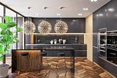 Как правильно сделать дизайн кухни, этапы проектирования, тонкости замера и выбор стилевого оформления - 17 фото20