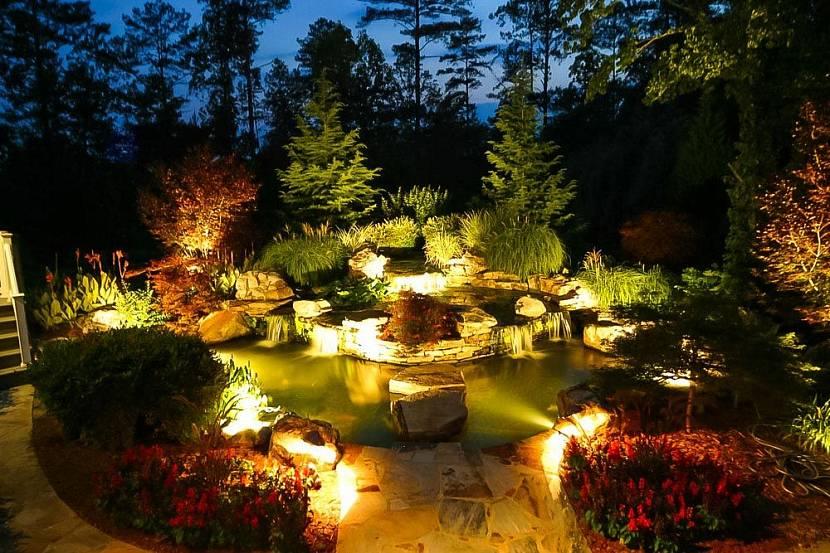 светильник уличный садовый