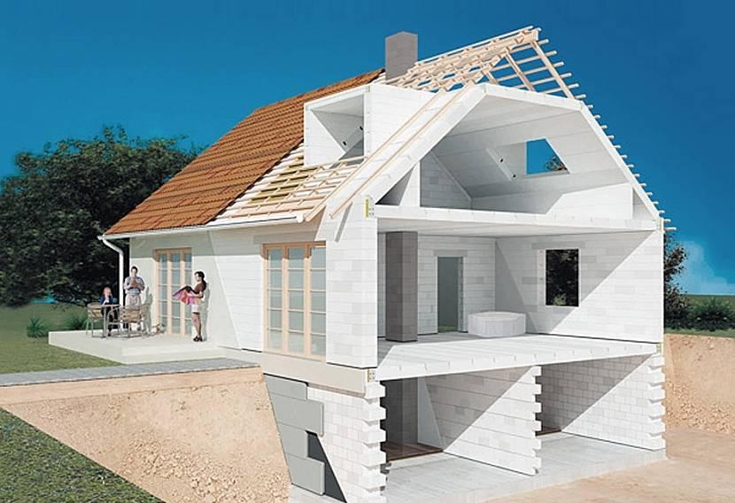 газосиликатный дом
