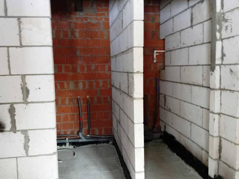 перегородки из газобетонных блоков