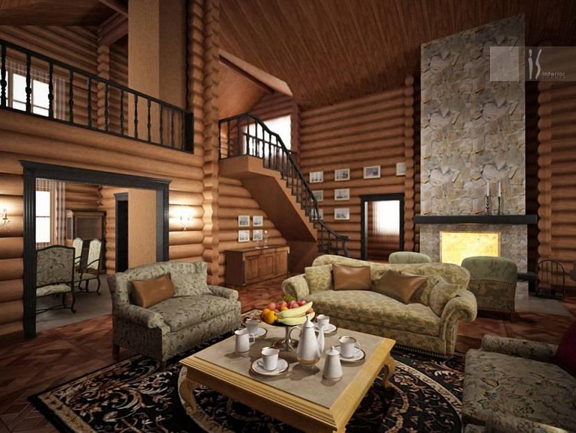Лучшая внутренняя отделка деревянного дома основана на применении натуральных материалов