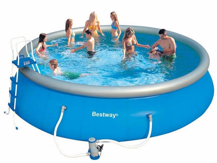 разборный бассейн для дачи