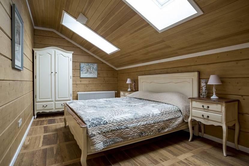 Спальня - интерьер дома — Интерьеры квартир, домов — MyHome.ru | 552x830