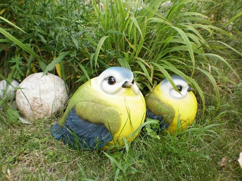 чем покрасить садовые фигурки из гипса