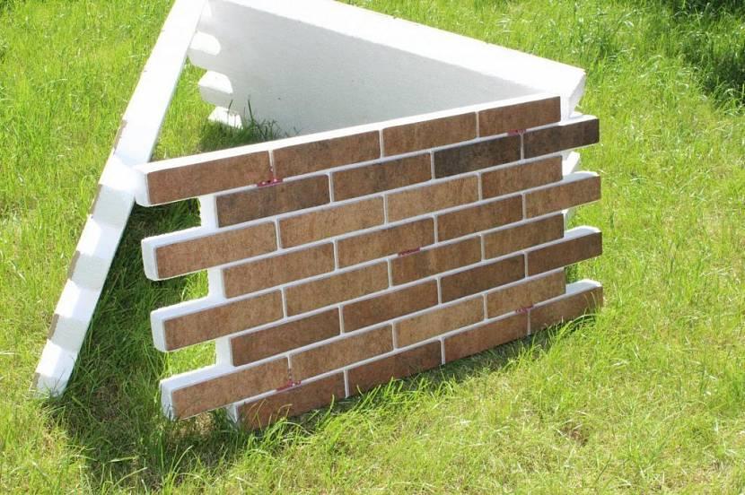 облицовочные панели для фасада дома с утеплителем