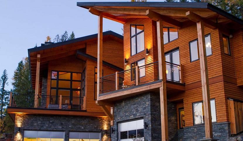 недорогая отделка фасада дома