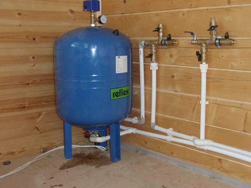 подключение гидроаккумулятора к системе водоснабжения