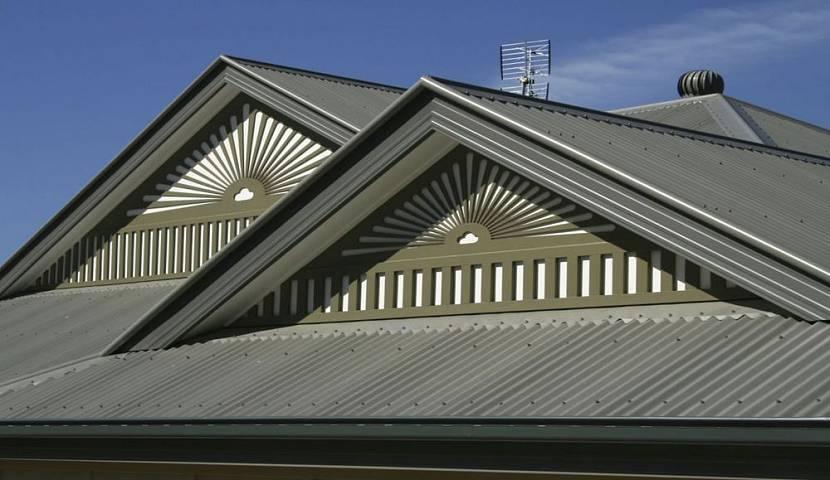 элементы скатной крыши