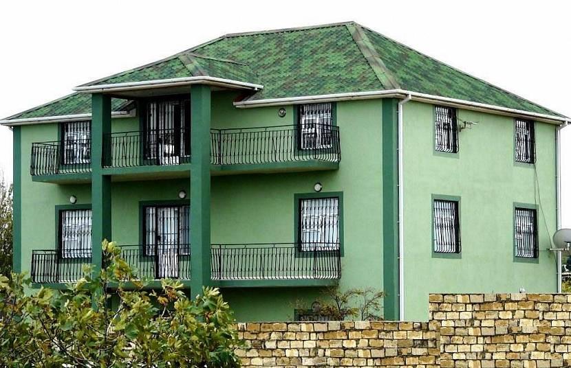 зеленая крыша какой фасад
