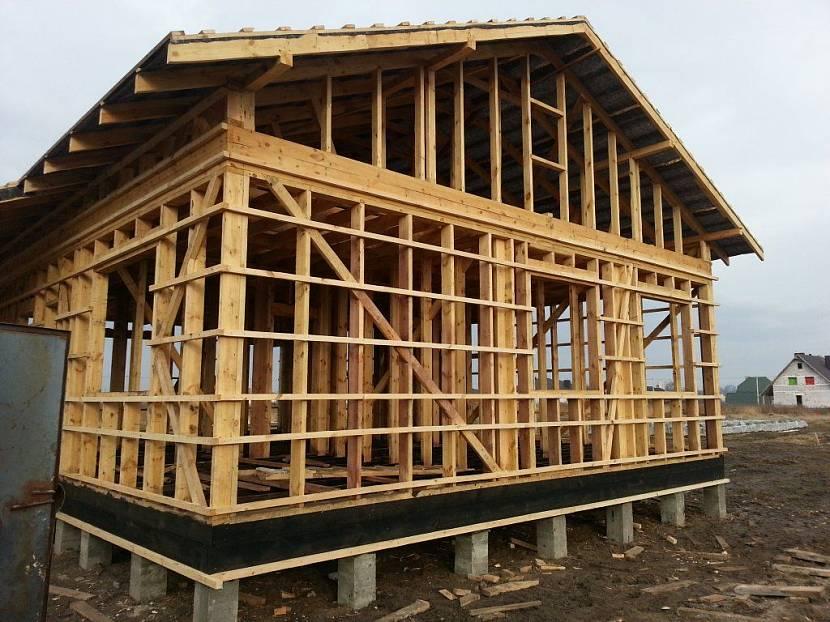 одноэтажные каркасные дома под ключ недорого для постоянного