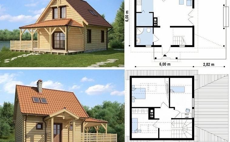 Проекты домов с мансардой: бесплатно чертежи и фото | Home-ideas.ru | 467x758