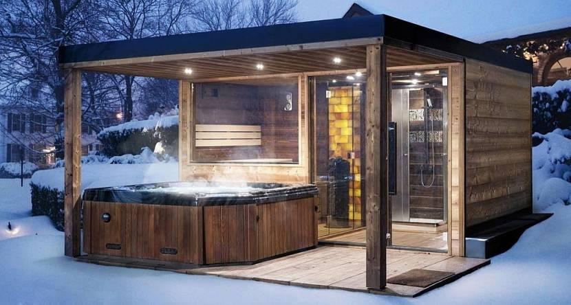 красивые бани снаружи