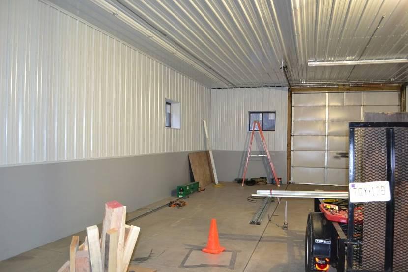 Обшить потолок в гараже фото