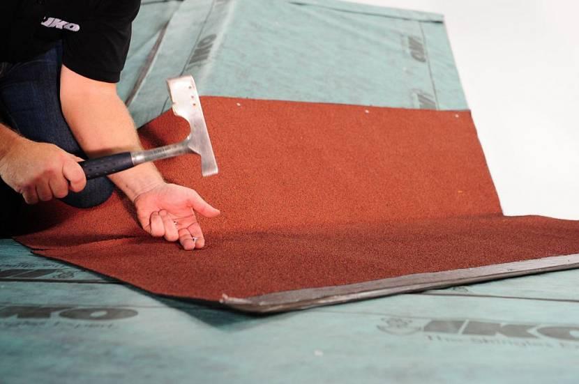 технология укладки мягкой черепицы на крышу