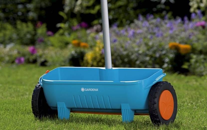 разбрасыватель сеялка для газона купить