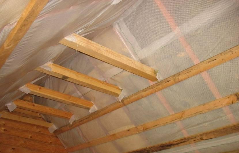 пароизоляция на крышу
