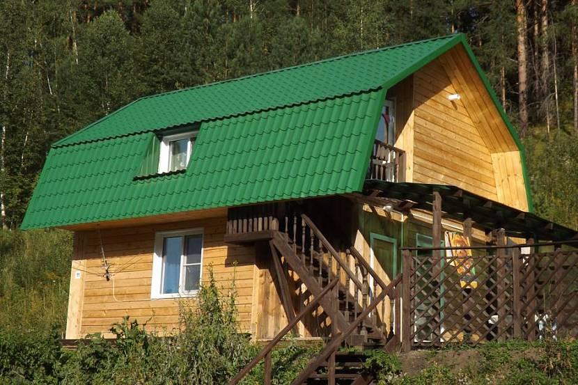 Дом для посуточной аренды может быть маленьким