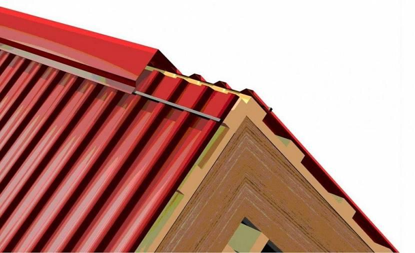 гидроизоляция крыши балкона под профнастил
