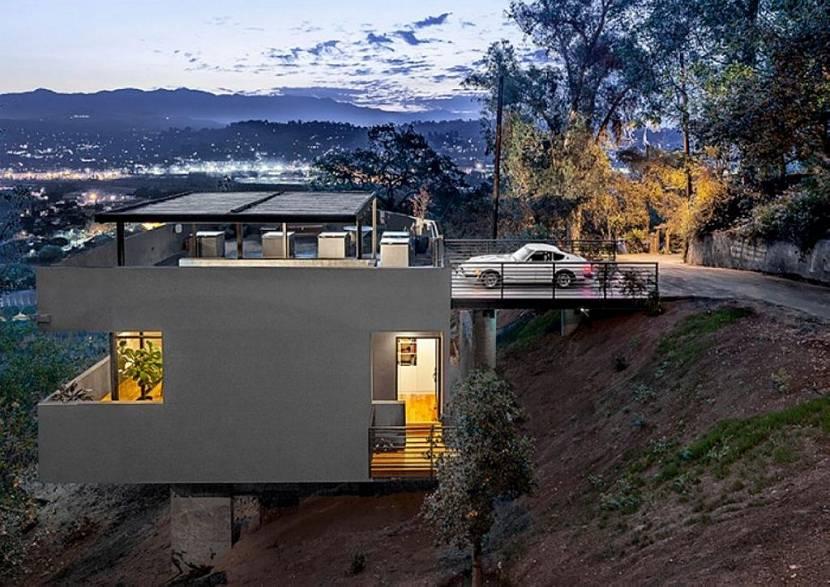 многоэтажный дом выстроенный на склоне фото соблюдения