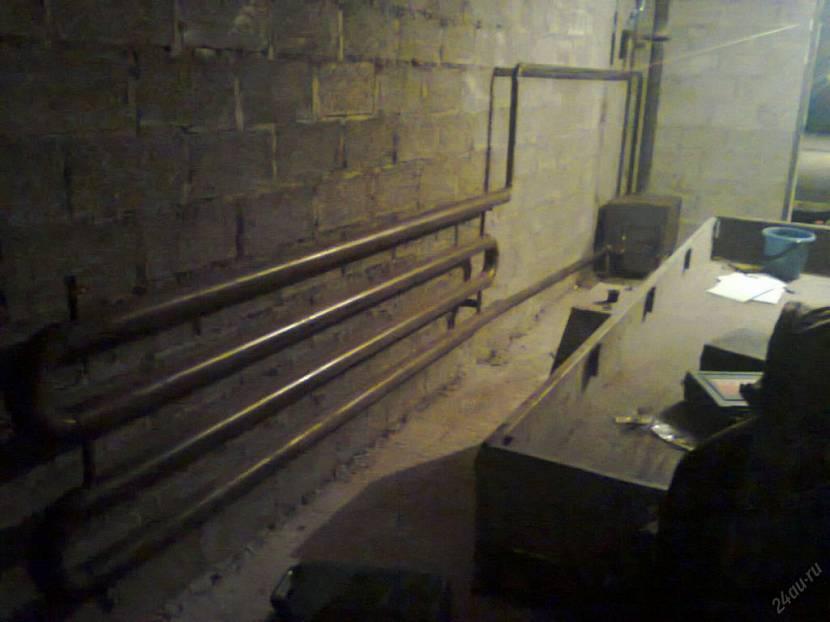 гараж из пеноблоков с односкатной крышей