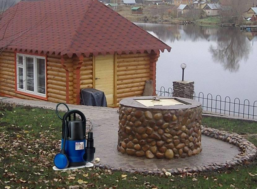 насос для водоснабжения частного дома из колодца